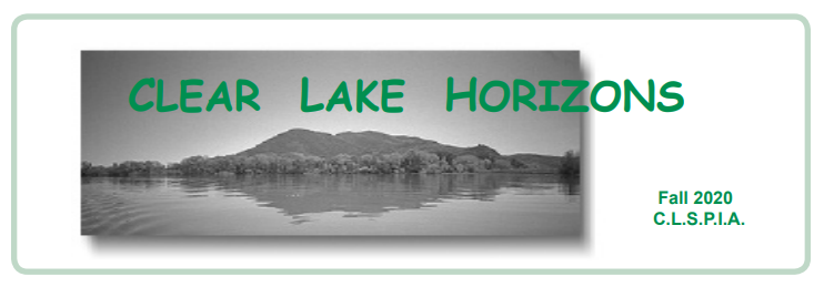 Clear Lake Horizons-Newsletter